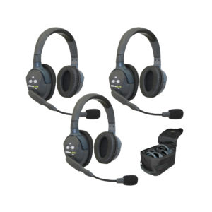 Eartec UltraLITE™ 3-Person Setup