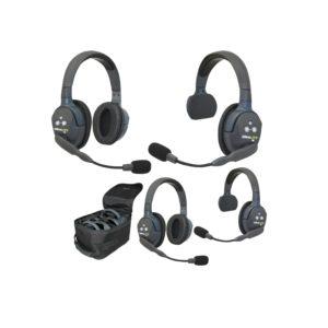 Eartec UltraLITE™ 4-Person Setup