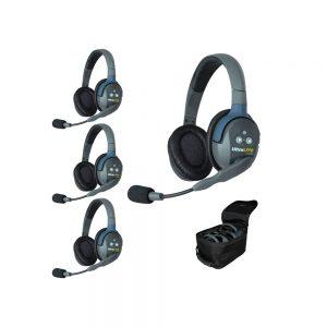 Eartec UltraLITE™ 4-Person Full Duplex Headset