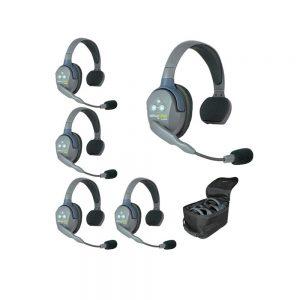 Eartec UltraLITE™ 5-Person Setup