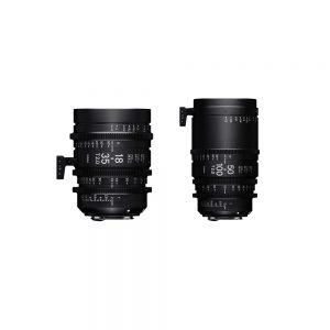 Sigma 18-35mm & 50-100mm T2