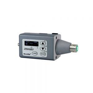 Zaxcom TRX743.5 plug-on transceiver with internal recording