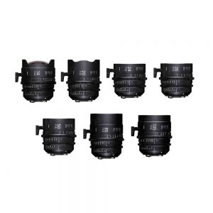 Sigma FF High Speed 7 Prime Lens Kit