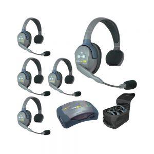 Eartec UltraLITE™ 5-Person Setup w/HUB
