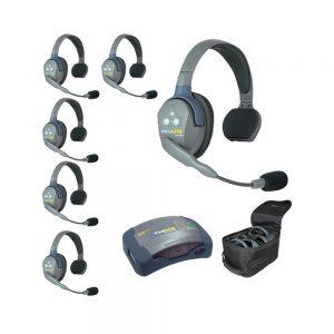 Eartec UltraLITE™ 6-Person Setup