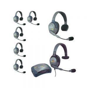 Eartec UltraLITE™ 7-Person Setup