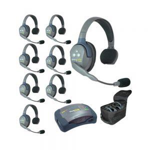 Eartec UltraLITE™ 8-Person Setup