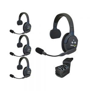 Eartec UltraLITE 4 Person Single Ear Headset