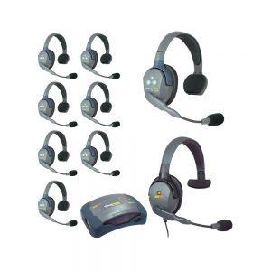 Eartec UltraLITE 9-Person HUB Intercom System