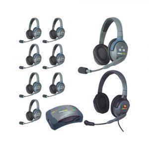 Eartec HUB9DMXD 9-Person Wireless Intercom